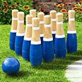 Lawn Bowling Game/Skittle Ball- Indoor and Outdoor Fun for...