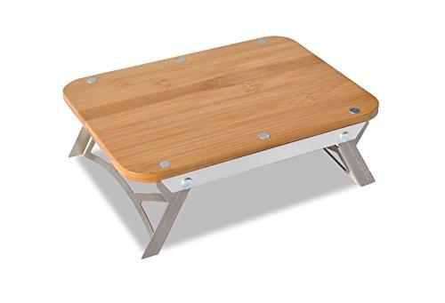 Portable solo camping cutting board