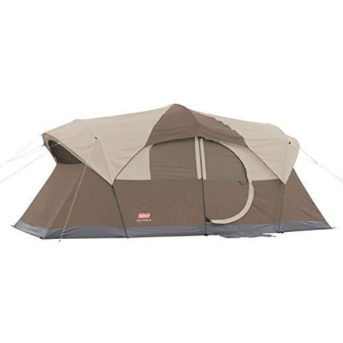 Coleman Large Camping Tent 17X9 Weathermaster 10