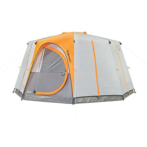 Large camping tents, Coleman Octagon 8 person tent