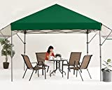 MASTERCANOPY 10x10 Pop-up Gazebo Canopy Tent with Double Awnings Green
