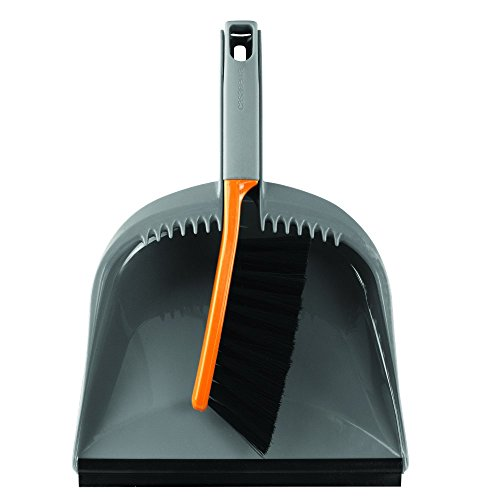 Dustpan and brush set for cleaning your tent.