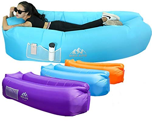 Inflatable camping sofa