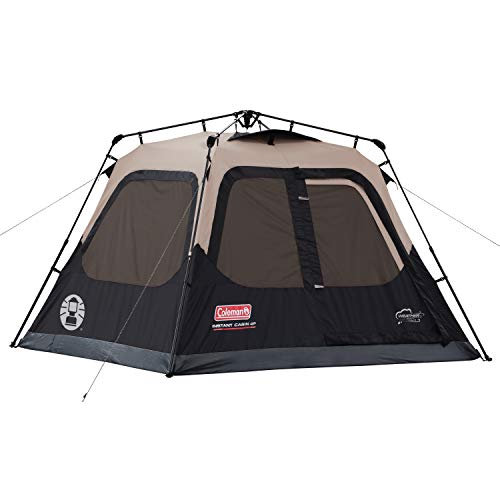Coleman instant camping tent.