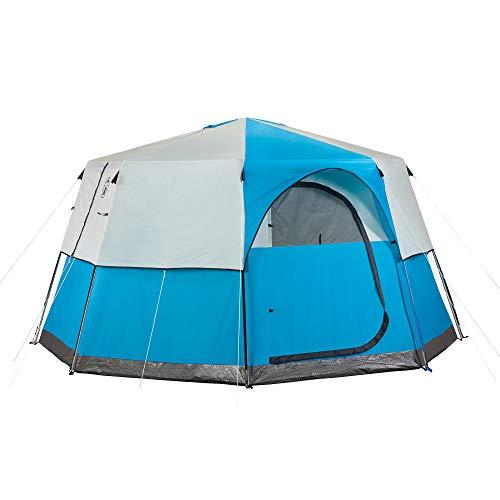 Coleman Octagon 98 4-Season family camping Tent