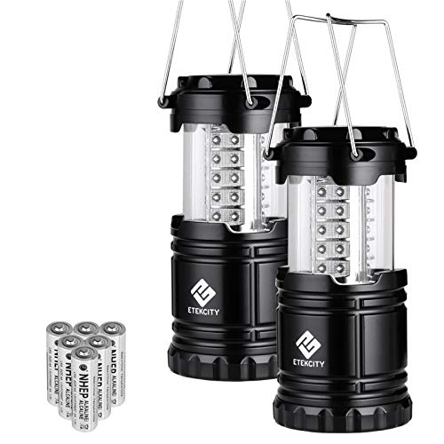 LED camping lantern. A great camping gift.