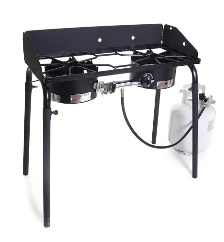 Camp chef 2 burner camping stove.