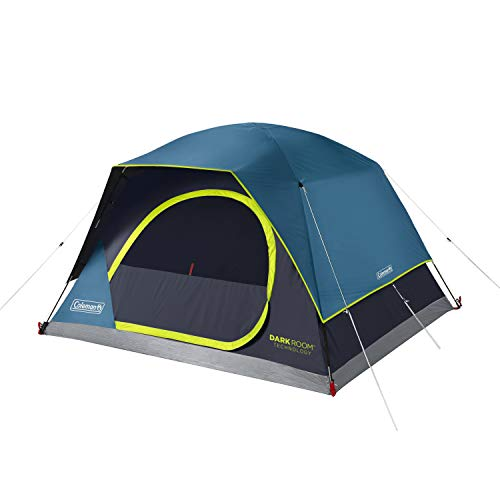 Coleman Dark Room Skydome 6 Person Camping Tent