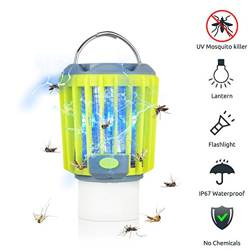 Camping gifts: Camping bug zapper tent light