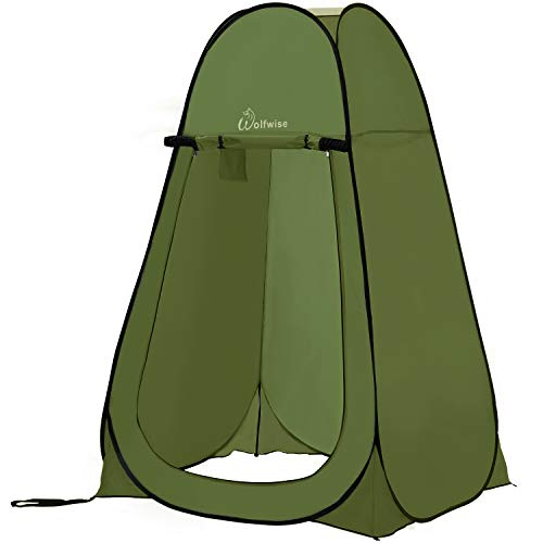 Privacy pop up camping tent