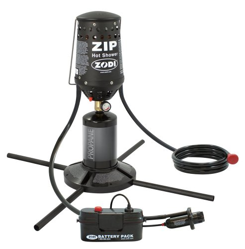 Zodi Zip camping shower