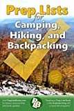Prep list for planning a camping trip