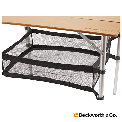 Solo camping gear, folding table