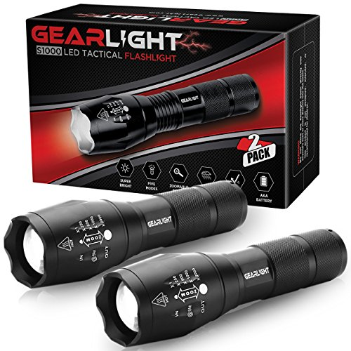 LED camping flashlights