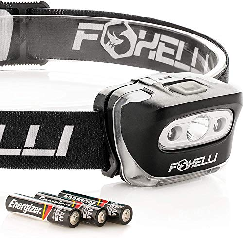 LED headlamp flashlight.
