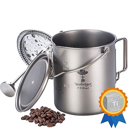French Press Pot for Camping