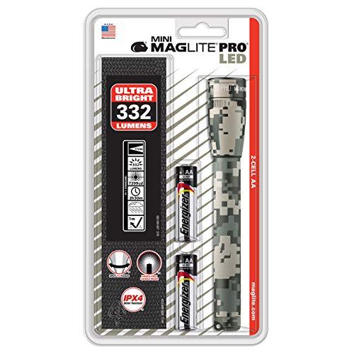 Maglite mini pro camping flashlight