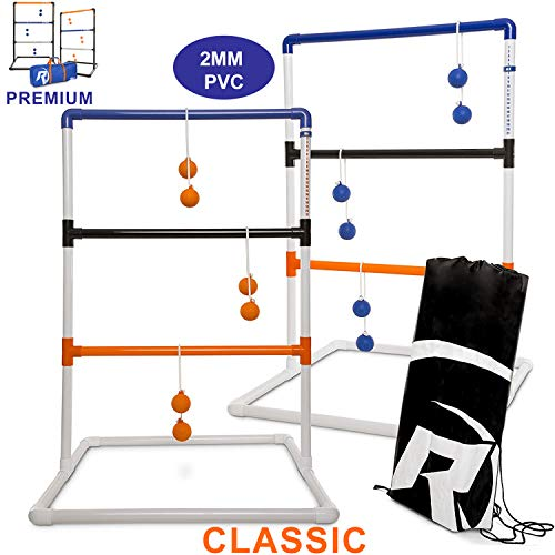 Ladder toss camping game.