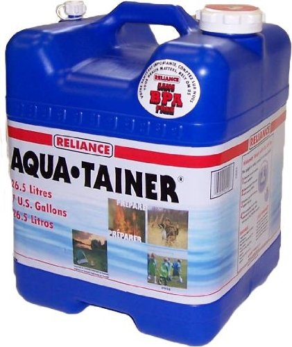 7 gallon water jug makes a great camping gift idea.