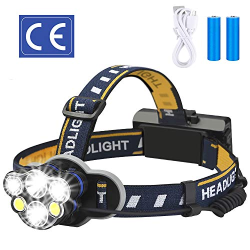 LED headlamp part of solo camping gear