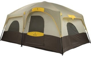 Browning 15x10 Camping Big Horn family tent.