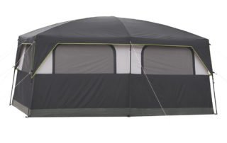 Coleman Signature Prairie Breeze 14x10 camping tent back view.
