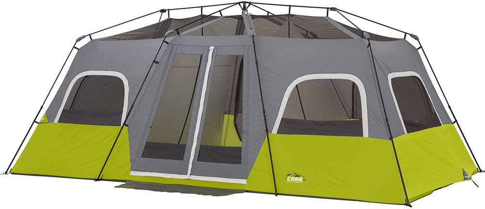 Core 12 Person 18x12 Large Camping Tent without a the rainfly