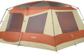 Eureka Copper Canyon 14x12 camping tent without rainfly.
