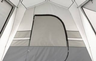 Ozark Trail 15 person instant cabin tent divider.