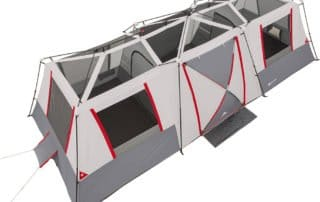 Ozark Trail 15 person instant large cabin tent without rainfly.