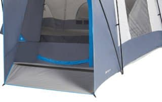Ozark Trail 16 person 23x18 extra large camping tent entrance.