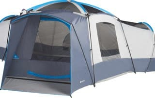Ozark Trail 16 person 23x18 large camping tent without rainfly.