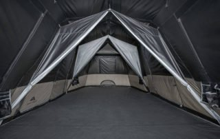 Ozark Trail 20x10 Dark Rest Large CampingTent Inside View