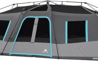Ozark Trail 20x10 Dark Rest Tent With Out Rain Fly