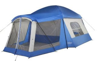 Wenzel Klondike 8 person 17x11 family camping tent.