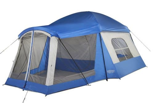 Wenzel Klondike 8 Person 17x11 family tent.