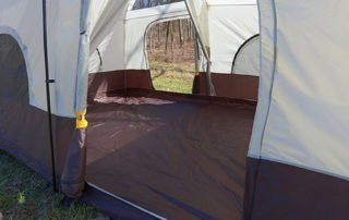 Browning 15x10 Camping Big Horn family tent entrance.