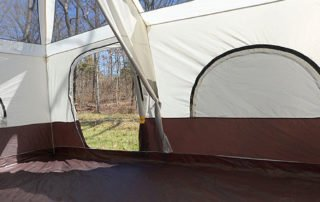 Browning 15x10 Camping Big Horn family camping tent. inside view