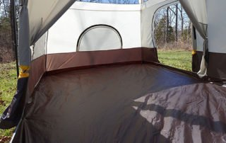 Browning 15x10 Camping Big Horn tent full inside view.