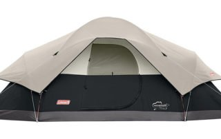 Coleman Red Canyon 8 Person 17x10 large camping tent.