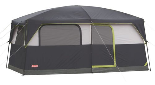 Coleman Prairie Breeze 9 person 14x10 camping tent.