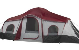 Ozark Trail 10 person 20x10 family camping tent.