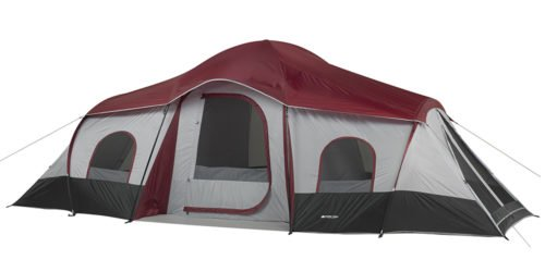 Ozark Trail 10 Person 20x10 3 room large family tent.