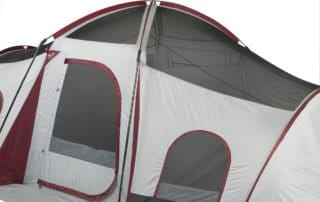Ozark Trail 10 person 20x10 camping tent without rain fly.