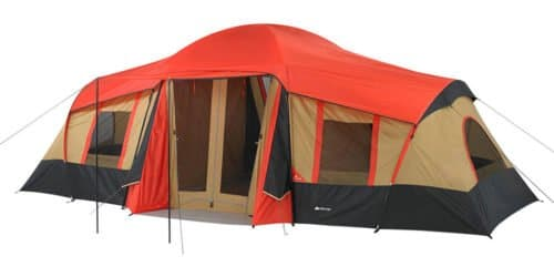 Ozark Trail 10 Person 20x11 large camping tent.