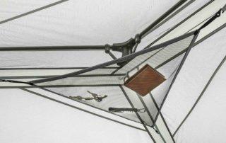 Ozark Trail 11 Person 17x15 instant hexagon family cabin tent gear hammock.