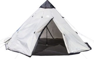 Tahoe Gear Bighorn XL 12 person 18x18 teepee tent.