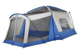 Wenzel Klondike 8 person 17x11 family camping tent no rainfly.