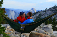 Eagles Nest Outfitters double nest hammock in the mountains.