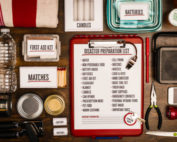 Camping First Aid Kit and Survival Gear
